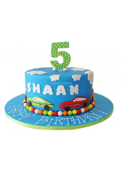 Car Design Cake