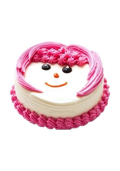 Smiley Face Cake