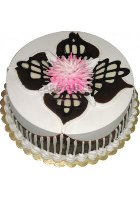 choco leaf cake