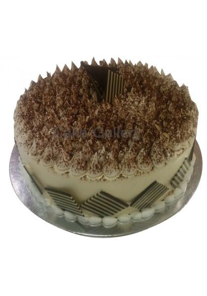 choco white cake