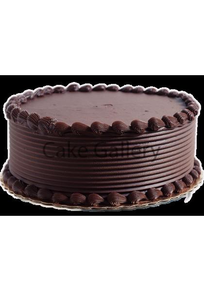 Delicious Round Choco Cake