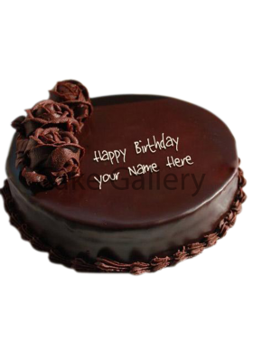 blacky choco cake