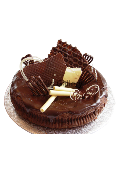 Sweet Choco Biscuit Cake
