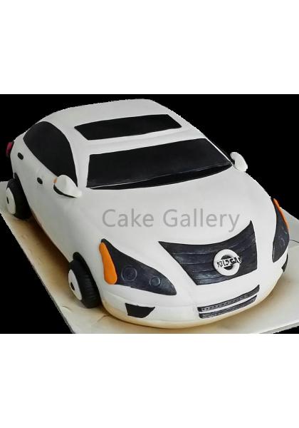 nissan car cake