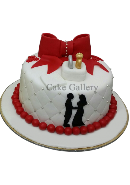 sweet couple cake
