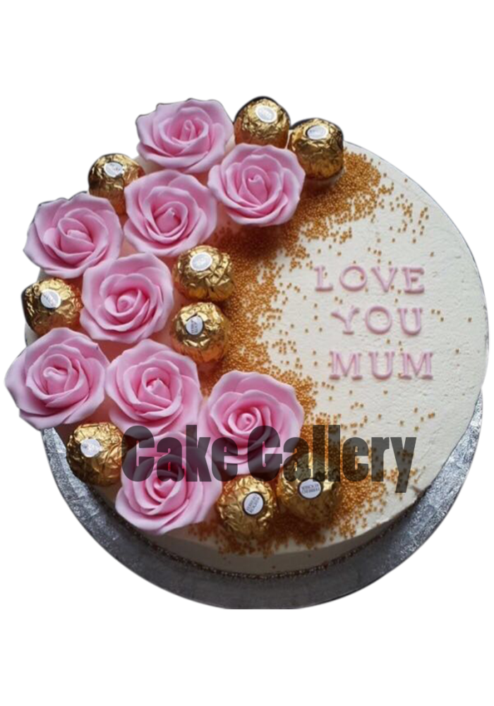 Ferrero Rocher Birthday Cake