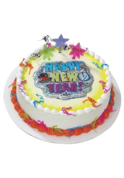 special new year cake