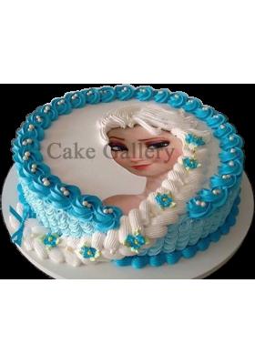 Frozen Them Photo Cake
