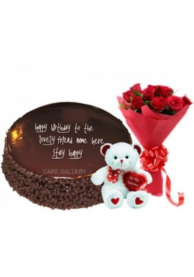 Special Chocolate Teddy Combo