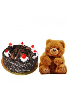 Black Forest With Teddy
