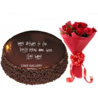 Chocolate Flower Combo Gift