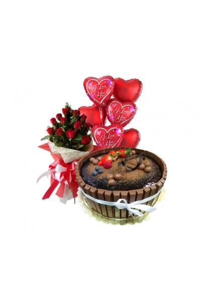Kitkat cake Combo